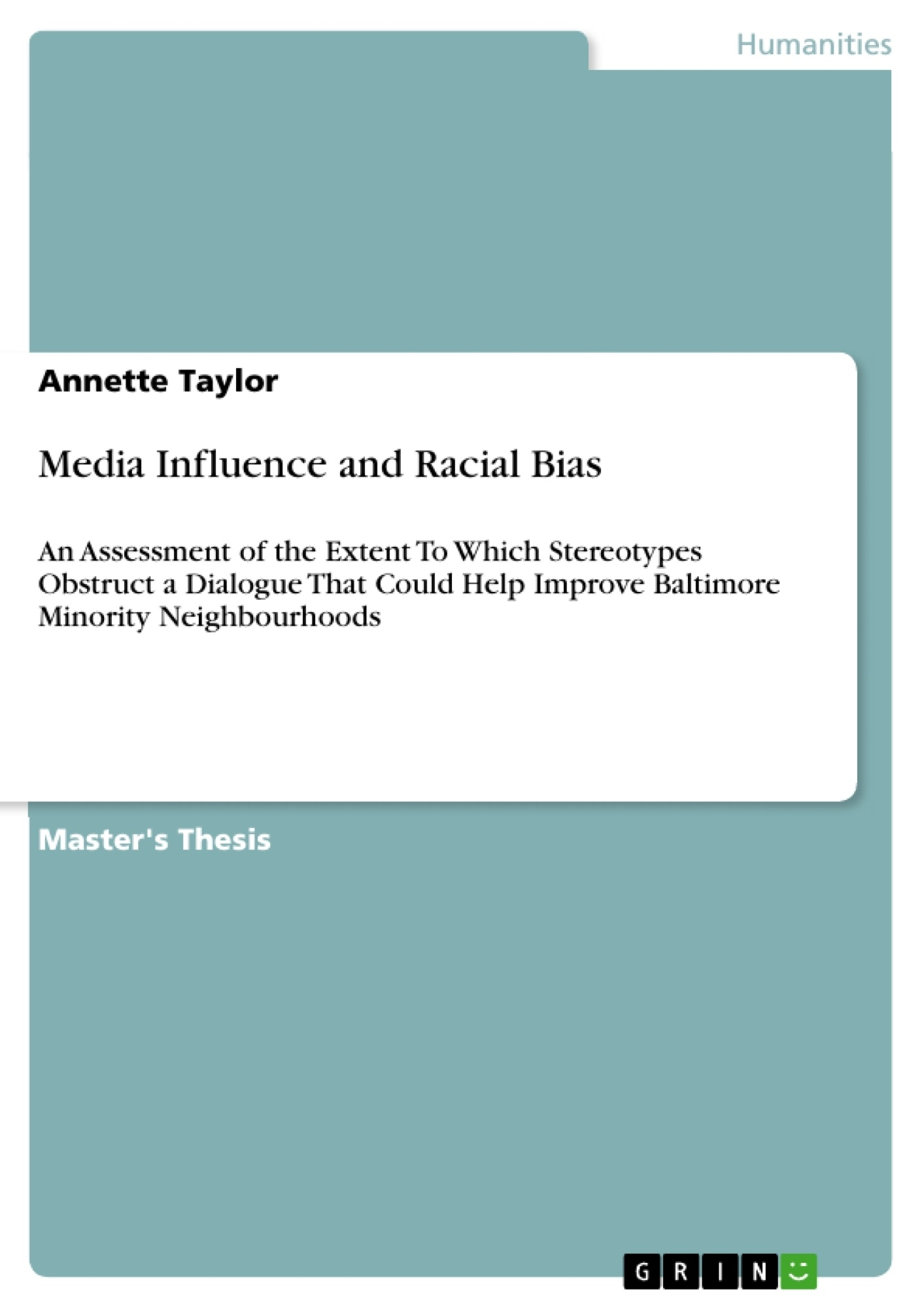 media influence and racial bias publish your master s thesis media influence and racial bias publish your master s thesis bachelor s thesis essay or term paper