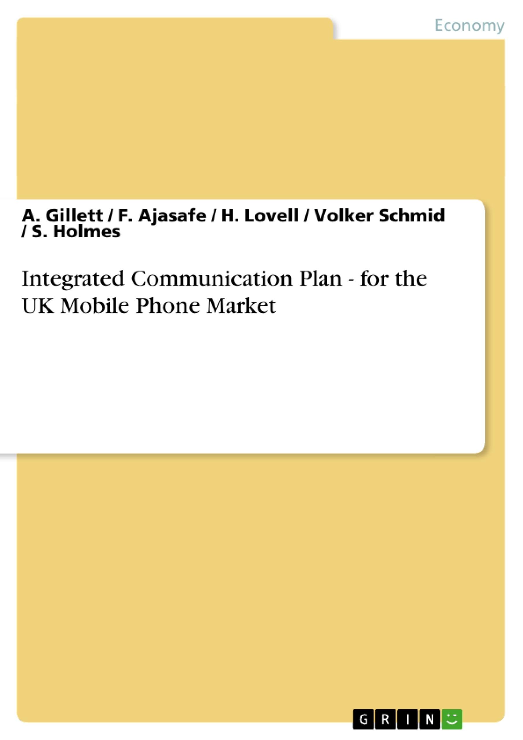 Iphone marketing plan essays