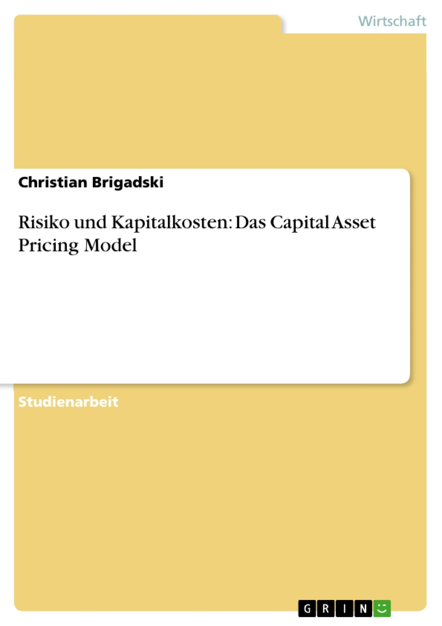 capital asset pricing model and nike essay We will write a custom essay sample on nike specifically for you for only $1638   calculate the costs of equity using capm, and the dividend discount model.