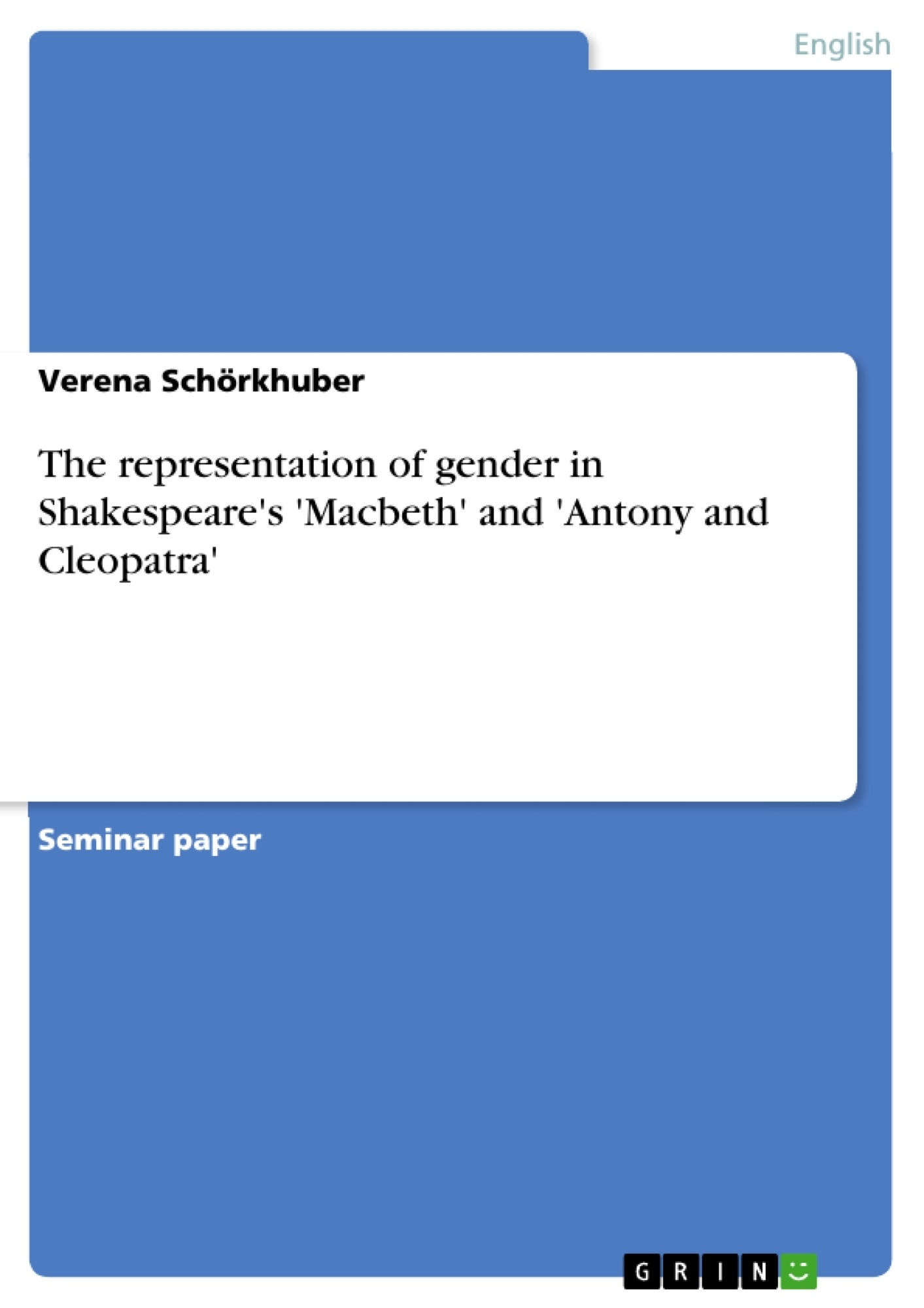 the representation of gender in shakespeare s macbeth and upload your own papers earn money and win an iphone 7