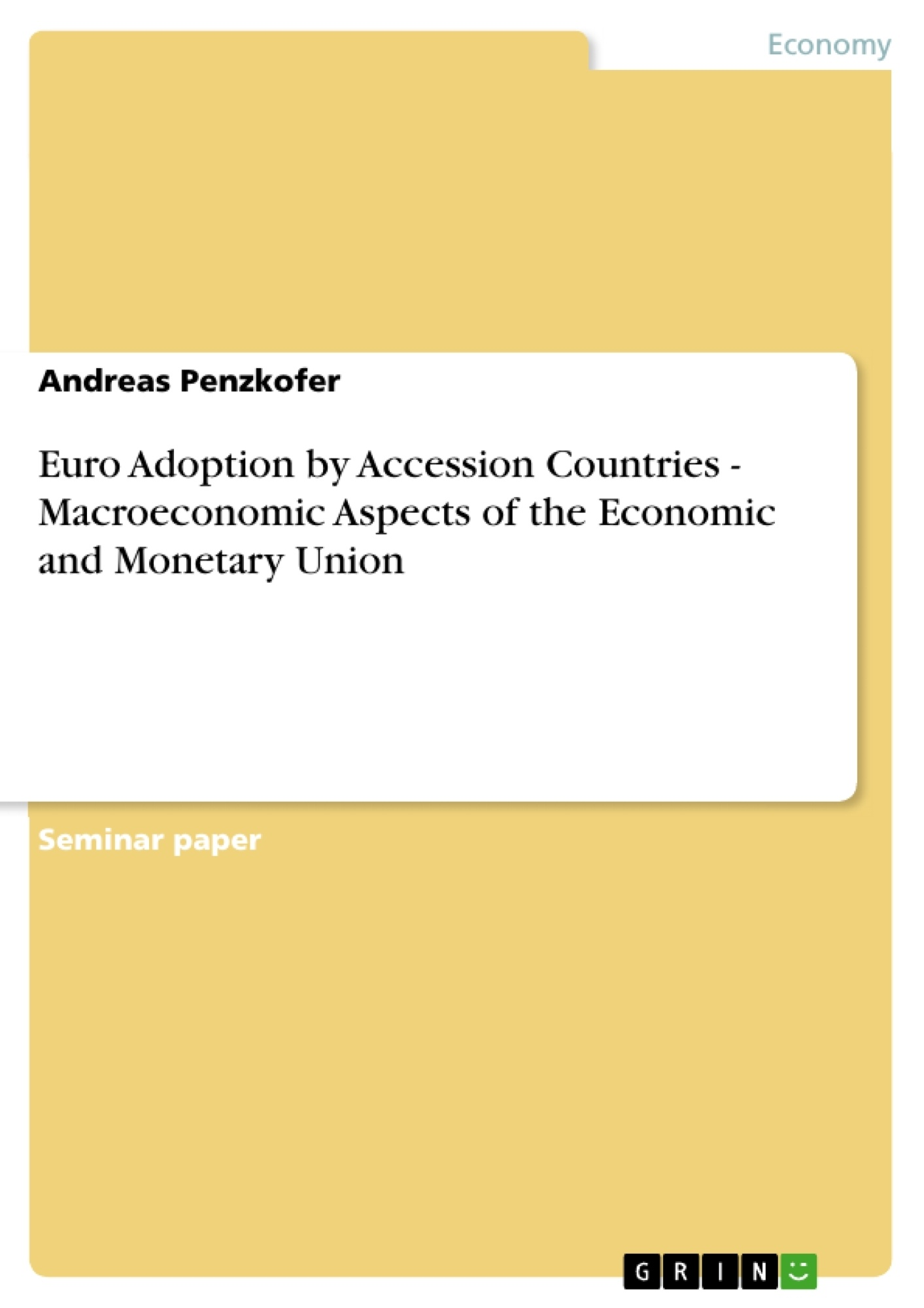 macroeconomic flaws in the euro essay Consistent with macroeconomic paradigms prevalent at the time,  the euro area is moving quickly to correct one flaw in the maastricht  finance at center stage.