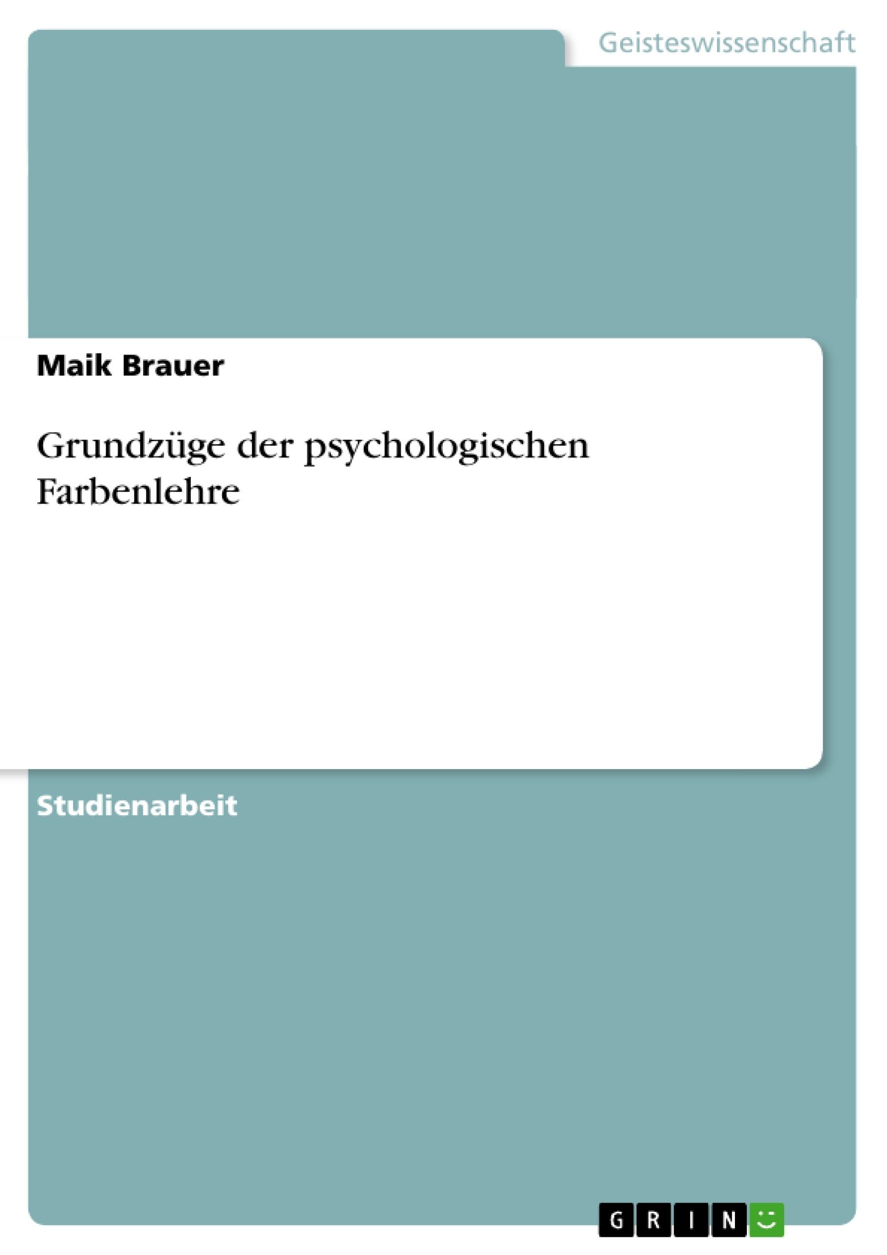 72994_0 Fabelhafte Psychologische Wirkung Von Farben Dekorationen