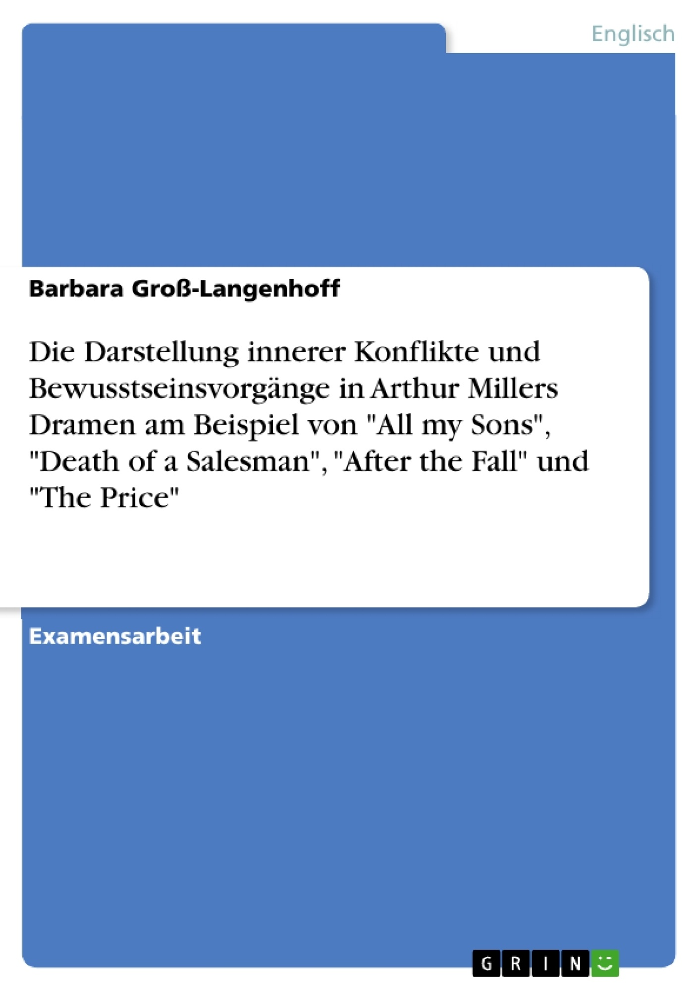 the frustrations in the search of the american dream in arthur millers death of a salesman Willy loman is often recognised as the tragic hero of arthur miller's death of a salesman but arguments can be made against biff being the contemporary.