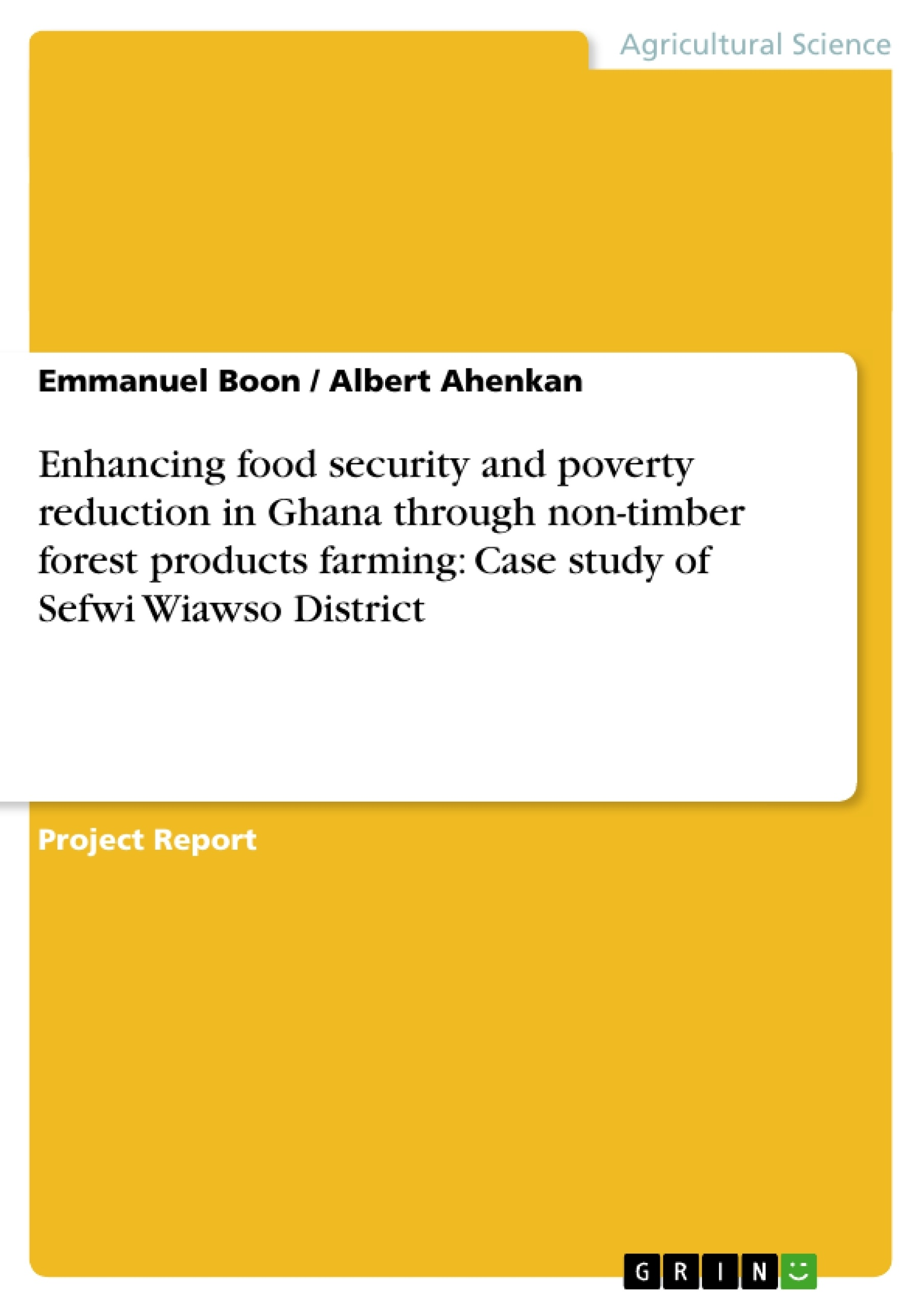 Research proposal on poverty ghana