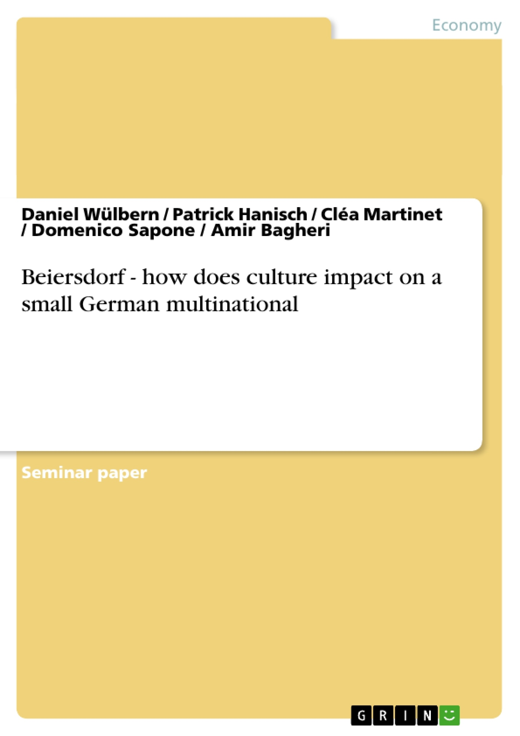 Write an essay on multinational corporate culture