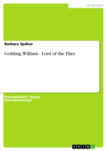 golding essay prize Lord of the flies • join now to read essay lord of the flies and other term papers or novel written by nobel-prize winning author william golding.