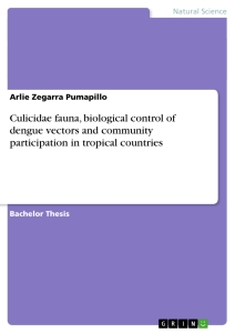 Title: Culicidae fauna, biological control of dengue vectors and community participation in tropical countries