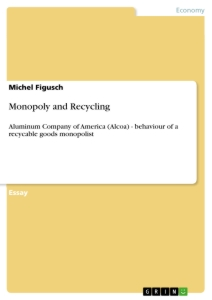 Title: Monopoly and Recycling