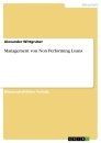 Title: Management von Non Performing Loans