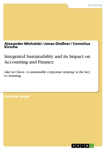 integrating sustainability essay Governance for sustainable development integrating governance in the post-2015 development framework march 2014 discussion paper.