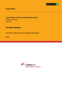 the diet industry publish your master s thesis bachelor s the diet industry