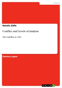 conflict and levels of analysis publish your master s thesis conflict and levels of analysis