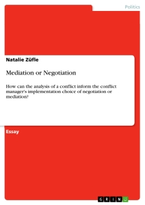 Articles on Negotiation