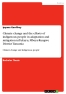 Titel: Climate change and the efforts of indigenous people in adaptation and mitigation inTukuyu, Mbeya-Rungwe District Tanzania