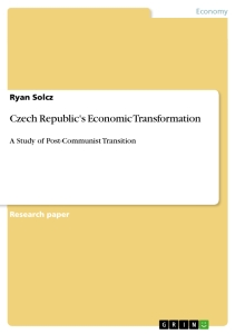 Title: Czech Republic's Economic Transformation