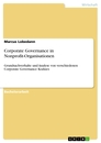 Title: Corporate Governance in Nonprofit-Organisationen