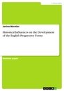 Title: Historical Influences on the Development of the English Progressive Forms