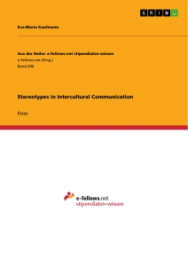 stereotypes in intercultural communication publish your master s stereotypes in intercultural communication essay