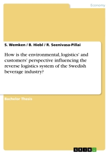 beverage industry logistics essay Beverage industry logistics essay - designing the optimized distribution network for carbonated soft drink industry introduction national and international businesses are becoming ever more dependent on logistics and supply chain management in order to keep pace with the demands of an increasingly global economy.