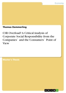 Corporate Social Responsiveness:: Exploring the Dynamics of