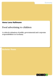 Essays about advertising to children