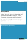 Title: Social Network Sites as a Marketing and Communication Tool between Global Cosmetic Companies and Consumers