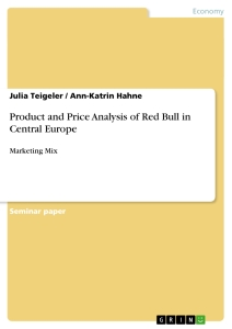 Red bull research paper
