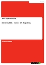 Title:  III. Republik - Vichy - IV. Republik