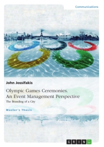 olympic games dissertation Government and public sector december 2005 olympic games impact study final report.