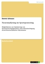 Title: Neuromarketing im Sportsponsoring