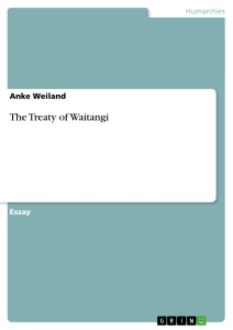the treaty of waitangi essay Introduction the treaty of waitangi is often described as the founding document of our country and by formalising the initial relationship between māori and the crown.