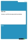 Title: Science and Environmental Journalism