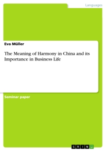the meaning of harmony in and its importance in business title the meaning of harmony in and its importance in business life