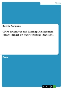 the impact of financial management decisions Poor financial reporting is the bane  how does information from financial statements influence business decisions  pricing and money management decisions,.