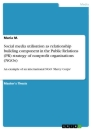Title: Social media utilisation as relationship building component in the Public Relations (PR) strategy of nonprofit organisations (NGOs)