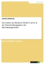 Title: Der Ansatz des Business Model Canvas in der Entscheidungsphase des Ideenmanagements