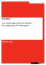 Title: Are centre-right parties in Europe becoming more Pro-European?