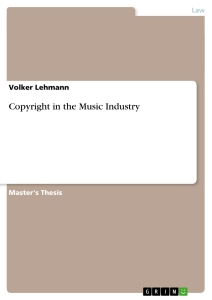 Title: Copyright in the Music Industry