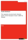 Title: The regional, structural and cohesion policy of the European Union: CARDS in Albania
