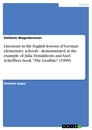 """Titel: Literature in the English lessons of German elementary schools - demonstrated at the example of Julia Donaldsons and Axel Schefflers book """"The Gruffalo"""" (1999)"""