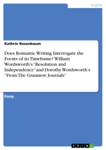"essay on resolution and independence by william wordsworth Resolution and independence and independence william wordsworth's poem ""resolution and ebook pdf doc file essay summary literary terms."