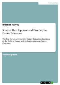 Titel: Student Development and Diversity in Dance Education