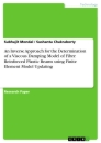 Titel: An Inverse Approach for the Determination of a Viscous Damping Model of Fibre Reinforced Plastic Beams using Finite Element Model Updating