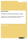 Titel: Livelihood and Microenterprises in India