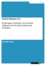 Titel: Promoting an Institute: An essential obligation for Technical Education Evolution
