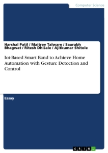 Titel: Iot-Based Smart Band to Achieve Home Automation with Gesture Detection and Control