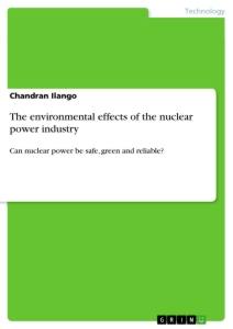 Titel: The environmental effects of the nuclear power industry