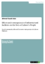 Titel: Effects and consequences of infrastructural facilities on the lives of Lahore's People