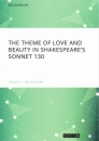 Titel: The theme of love and beauty in Shakespeare's Sonnet 130