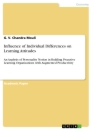 Titel: Influence of Individual Differences on Learning Attitudes